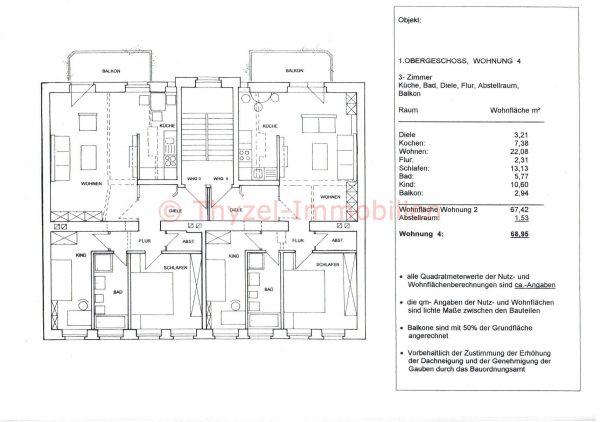 *Erstbezug* 3 Raum Wohnung mit Balkon / Lift in der Krämpfervorstadt *Erstbezug*